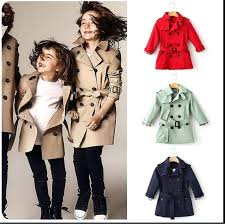 trench coat kid kids girls boys trench coat children coat autumn belt outwear kids jackets red khaki winter jacket girls clothes in trench from mother kids
