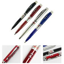 Pointer Pen <b>Multifunctional</b> Extendable Ballpoint <b>Stainless Steel</b> ...