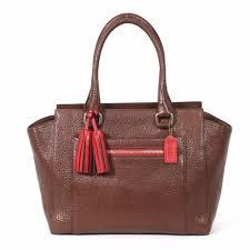 Coach Legacy Textured Leather Medium Candace Carryall Bag 19926 Brown  Camelian  Handbags  Amazon.com