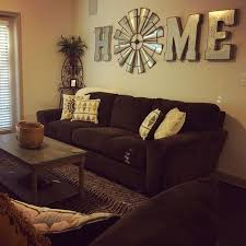 there s no place like home windmill decor fun living room