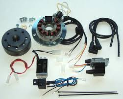 powerdynamo complete system for early yamaha rd stock points parts in the pack photo