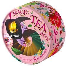 <b>Чай Curtis</b> Magic <b>tea</b> box <b>ассорти</b> в пакетиках подарочный набор ...