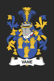 Vane: Vane Coat of Arms and Family Crest Notebook Journal (6 x 9 ...