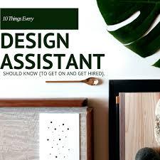 design assistant jobs interior design assistant jobs