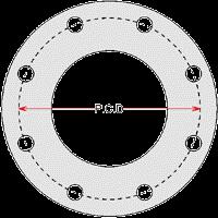 Flange Od Id Pcd Chart Flange Dimensions