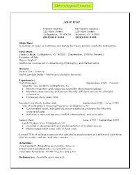 reverse resume reverse chronological order resume resume template  chronological order resume template example reverse chronological resume