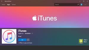 Windows Microsoft Free Download Apple Itunes For Windows 10 Hits Microsoft Store Download Now