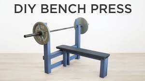 diy bench press how to make a weight bench