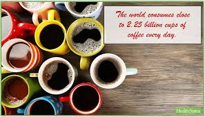 Learn all about coffee facts in this article. The World Consumes Close To 2 25 Billion Cups Of Coffee Every Day Coffee Cups Cup Fun Facts