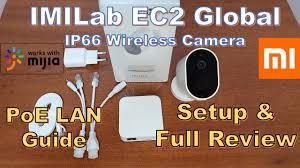 <b>IMILab</b> EC2 <b>Global Version</b> Setup, Review, PoE LAN Guide ...