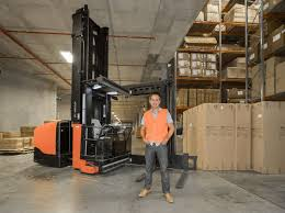 oz furniture design. Oz Design Furniture Director Richard Taafe With The Company\u0027s Customised Toyota BT Vector VCE150A Turret Truck