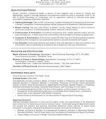 Resume For Applying To Graduate School Examples Of Graduate School