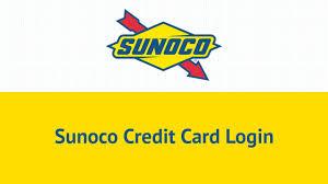sunoco credit card login in 2018 you