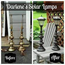 outdoor patio solar lights. Redo It Yourself Inspirations : Cut The Cord: Solar Lighting Part This Is Genius! What A Cool Way To Upcycle Cheap Thrift Store Lamps! Outdoor Patio Lights