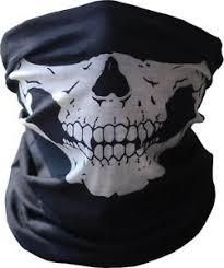 Skull Face Shield Mask Bandana Neck Scarf Headwear Face Tube Fishing