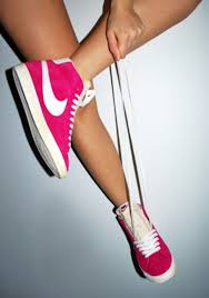 nike shoes high tops hot pink. shoes: pink, hot nike, nike sneakers, high tops, top bright fashion, pink shoes, red shoes tops e