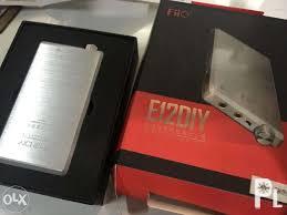 fiio e12 diy portable dap amp limited ed