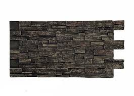 stacked stone dry stack select faux