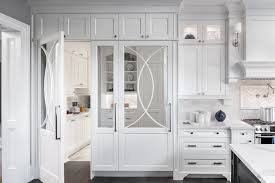 white kitchen cabinet. Touch Of Glamour White Kitchen Cabinet