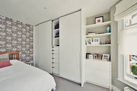 plain white bedroom door. Haverhill Road A Sliding Door Wardrobe With Recessed Handles Modern Style Plain White Bedroom