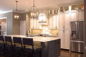 Lights For Kitchens Platinum Kitchens Double Stacked Upper Cabinets Love These Lights