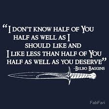 Bilbo Baggins Quotes Simple Bilbo Baggins Quotes Birthday Speech Amazon The Lord Of The Rings E