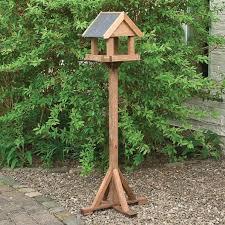 rowlinson windrush bird table one garden