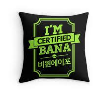 certified b1a4 bana stickers by skeletonvenus redbubble