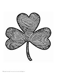 Small Picture Scribbleprints St Patricks Day Coloring Page