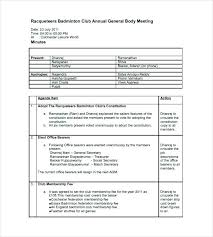 Example Of Meeting Minutes Template Unique School Meeting Minutes Template
