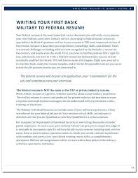the federal resume guidebook military to federal career guide edition page  electronic federal resume guidebook kathryn