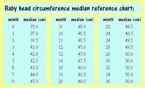 Infant Head Size Chart My Baby Is Of 73 Days Old What Should Be Her Normal Head Size