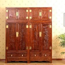 wardrobe solid wood furniture style bedroom locker old elm set combination coat cabinet chinese sydney