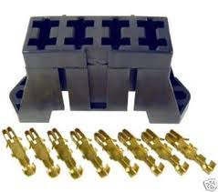 fuse box stackable type 4way with terminals to suit, auto mini fuse block terminals at Fuse Box Terminals