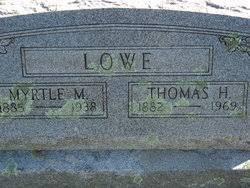 Myrtle Mae Lowe (Boggs) (1887 - 1938) - Genealogy