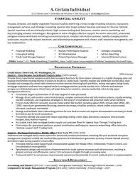 Credit Analyst Resume Interesting Financial Analyst Sample Resume Pugachev