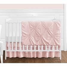 blush bedding queen.  Queen Sweet Jojo Designs Blush Pink Shabby Chic Harper Collection Girl 4piece  Bumperless Crib Bedding On Queen