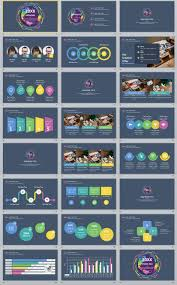Examples Of Professional Powerpoint Presentations 24 Multicolor Business Annual Powerpoint Presentations Template
