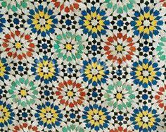 mosaic tile patterns. Fine Tile Mosaic Tile Pattern Morocco On Tile Patterns Pinterest