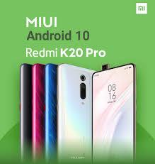 Redmi K20 Pro bắt đầu cập nhật lên Android 10 - Fptshop.com.vn