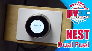 nest thermostat how to setup a nest thermostat for dual fuel Dual Fuel Wiring Diagram nest thermostat how to setup a nest thermostat for dual fuel youtube dual fuel heat pump wiring diagram