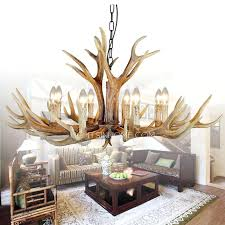 vintage 8 light hardware faux antler chandelier for living room faux antler chandelier white faux antler