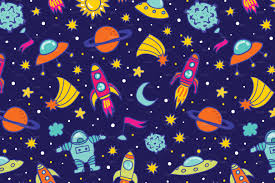 Space Pattern Stunning Space Pattern Graphic Patterns Creative Market