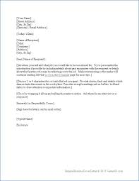 Resume Cover Letter Template For Word Sample Cover Letters For Cover