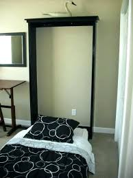 Murphy Bed Frame Kit Twin Bed Add A Hidden With This Easy Project ...
