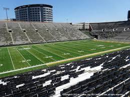 Kinnick Stadium View From Sideline 129 Vivid Seats