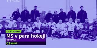 Vojtěch buchta art & motion direction: World Para Hockey Championships Live On Ct Sport Paraostrava2019