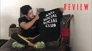 Assc Tee Size Chart Anti Social Social Club Assc T Shirt Review And Sizing