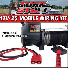 universal winch wiring kit universal image wiring 2 gauge 25 u2032 ft portable mobile winch wiring kit w quick on universal winch wiring