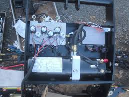 dxt home install on 2000 ford excursion page 2 plowsite when you have it correctly you remove the tradition wiring diagram decal and add the nge wiring schematic decal to the pump
